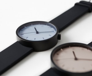 Draftsman 02. Stencil wristwatch by Nendo