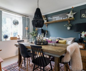 Dramatic Lighting: Black Chandeliers that Dazzle and Wow