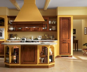Dreamy Italian Kitchens Laced with Refined Traditional Charm