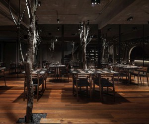 Dreamy Restaurant Escape: Inspired by Starry Moonlit Nights under the Sky