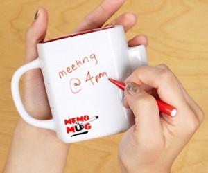Dry Wipe Memo Mug