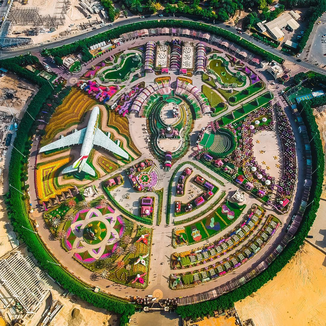 Dubai From Above: Stunning Drone Photography By Hany Rabah
