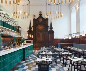 Duddells London Restaurant by Michaelis Boyd