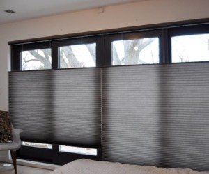 Duette Window Shades by Night and Day Window Decor