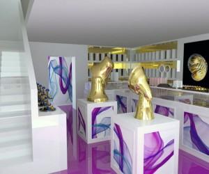 Dulcia chocolates shop by Hiperspace