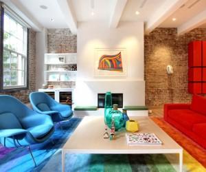 Duplex Apartment by Ghislaine Vinas