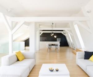 Duplex Apartment in Strasbourg by ff architectes