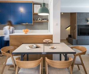 Duplex Flat Renovated in Thessaloniki by Normless Studio