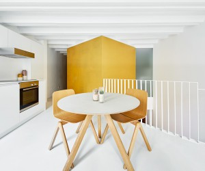 Duplex Tibbaut in Barcelona by Ral Snchez Architects
