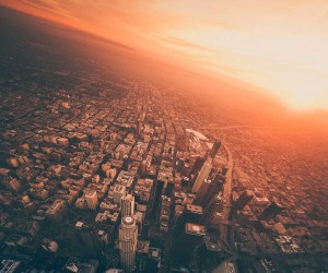 Dylan Schwartz Captures Stunning Sky-High Photos of Los Angeles