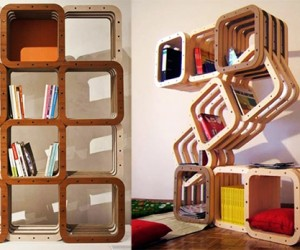 Dynamic modular home library