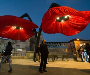 Dynamic Street Installation in Jerusalem