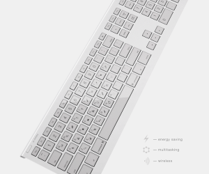 E-Inkey Dynamic Keyboard: Displays Keyboard Shortcuts