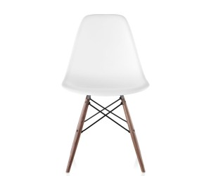 Eames Molded Plastic Side Chair Dowel Base by Charles  Ray Eames for Herman Miller