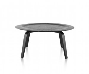 Eames Molded Plywood Coffee Table Wood Base by Charles  Ray Eames for Herman Miller