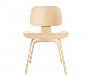 Eames Molded Plywood Dining Chair Wood Base by Charles  Ray Eames for Herman Miller