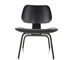 Eames Molded Plywood Lounge Chair Wood Base by Charles  Ray Eames