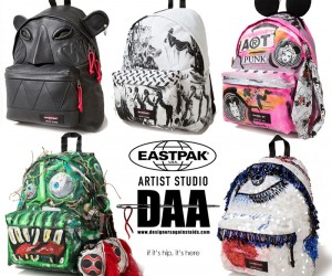 Eastpak Backpacks by 16 Designers Auctioned for Charity