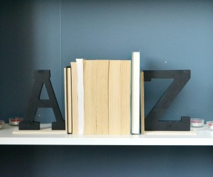 Easy A to Z Bookends