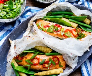 Easy Asian Baked Salmon