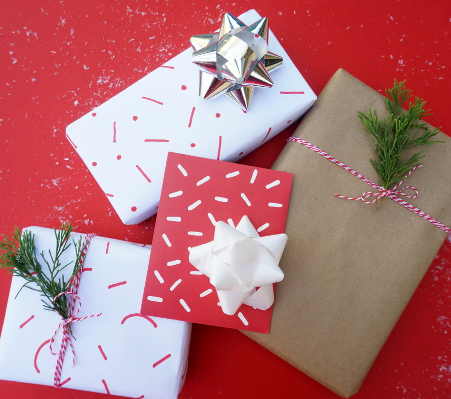 Easy gift wrapping ideas using everyday items negle Images
