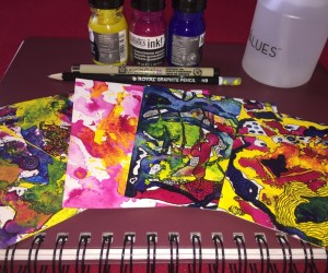 Easy Ink Paintings for Fun and Relaxation