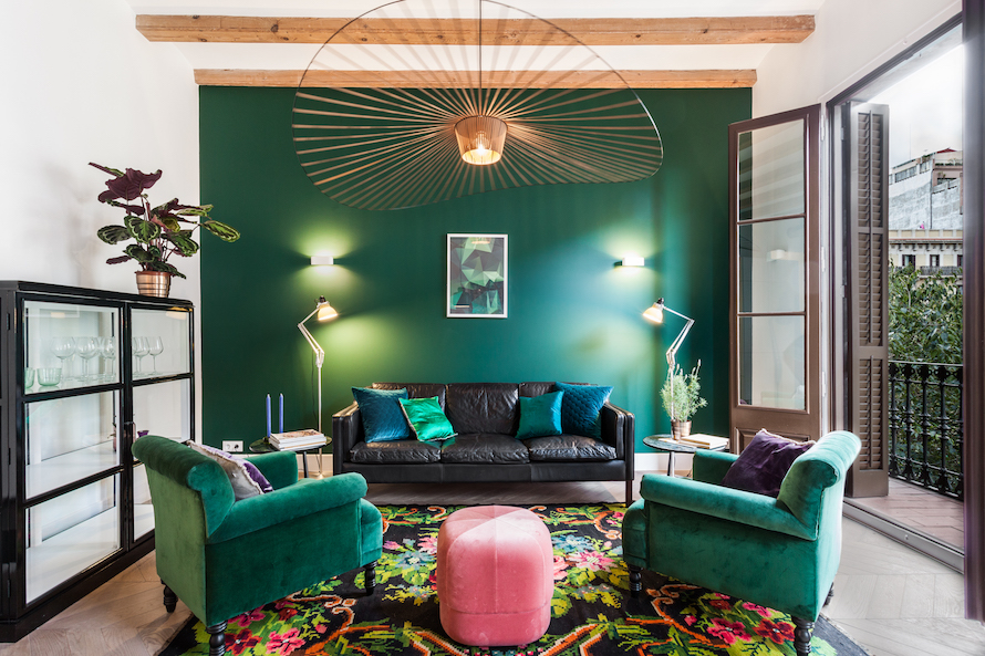 & Eclectic Apartment in Barcelona