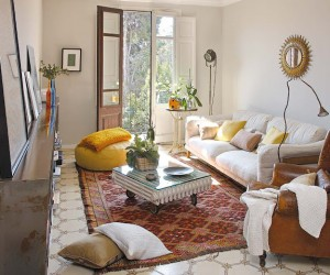 Eclectic apartment in Barcelona