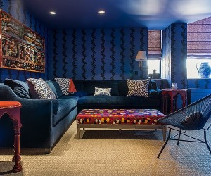 Eclectic design style and originality for Soho Penthouse