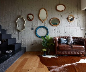 Eclectic House for Two Collectors of Toys  Taipei City