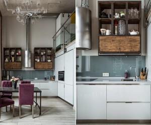 Eclectic Loft by Yana Ukhova