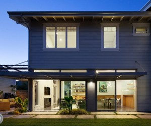 Eco-Conscious Enterprise: Contemporary Zero Net Energy Home in Santa Cruz