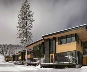 Eco-Friendly Mountainside Homes Reimagine the Classic Ski Chalet