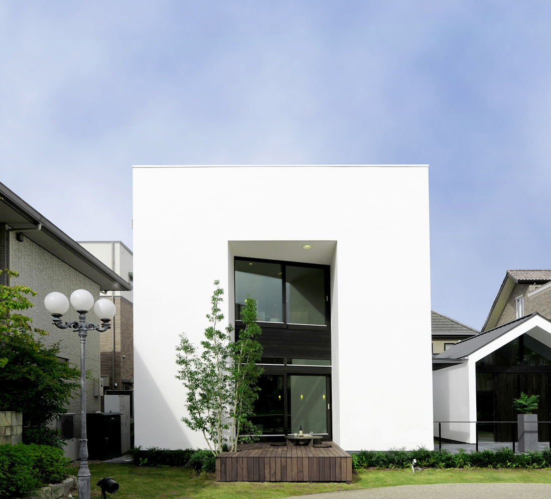 Eco metaphys house in japan