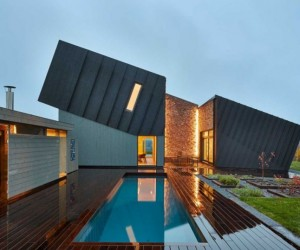 Ecological and sustainable house by Snhetta: ZEB Pilot House
