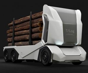 Einride Unveils Autonomous All-electric Logging Truck
