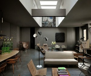 Elegant And Moody Home By Dordoni Architetti in Milan.