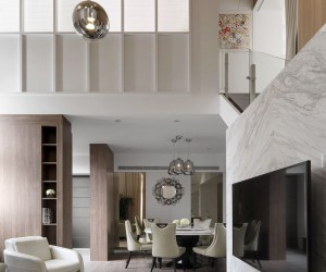 Elegant Apartment Designed by DA CHI International