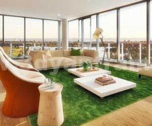 Elegant Contemporary Living Room Design View