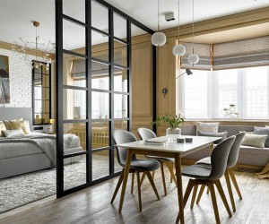 Elegant loft design by Antonina Sinchugova