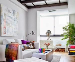 Elegant mini loft in Madrid
