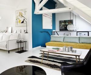 Elegant parisian duplex by Sarah Lavoine