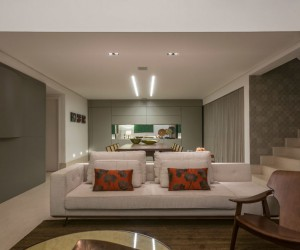 Elegant Penthouse Designed by 2arquitetos in Belo Horizonte, Brazil