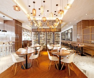 Element Cafe at Amara Hotel by designphase dba