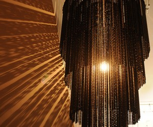 elemental | Bicycle Chain Chandelier