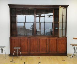 elemental | Mahogany Library Cabinet