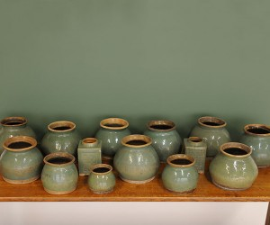 elemental | Set 14 Celadon Glaze Jars
