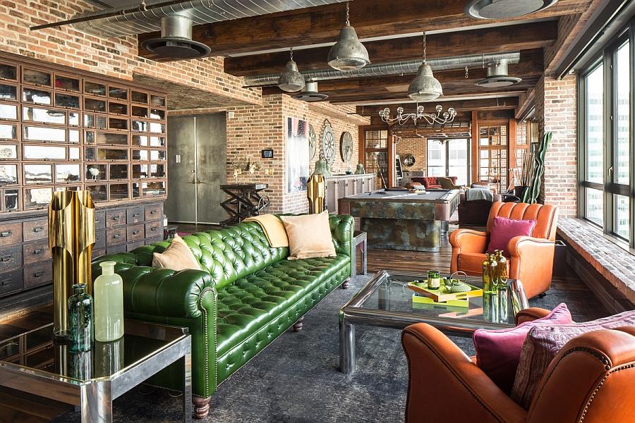 elite new york penthouse. Black Bedroom Furniture Sets. Home Design Ideas