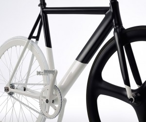 Eltipo Graphics Balck-White Fixie Bicycle