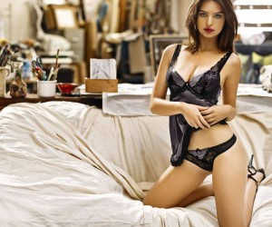 Emily Ratajkowski Gets Insanely Sexy For Yamamay Lingerie